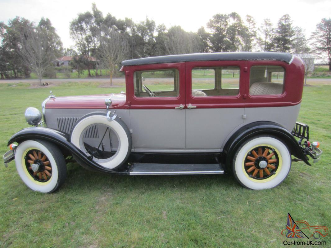 1929 6 wheel equipped dodge sedan in newtown vic for 1929 dodge 4 door