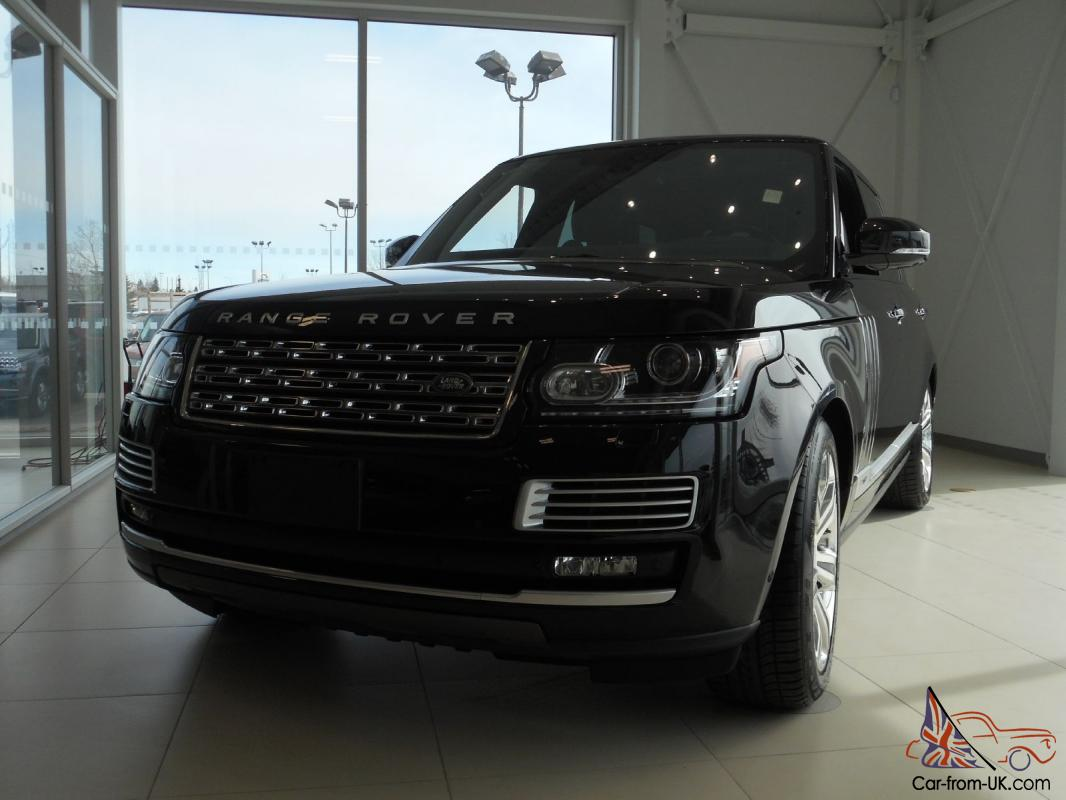 land rover range rover 5 0l v8 supercharged autobiography black edition. Black Bedroom Furniture Sets. Home Design Ideas