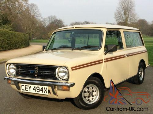 1981 Austin Mini Clubman Estate 1 Owner For 34 Years 20000 Miles