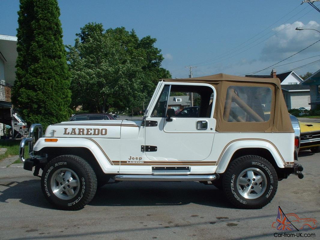 Jeep Wrangler With Chrome Bumper And 3 Kind Of Tops 1988 Hard Top
