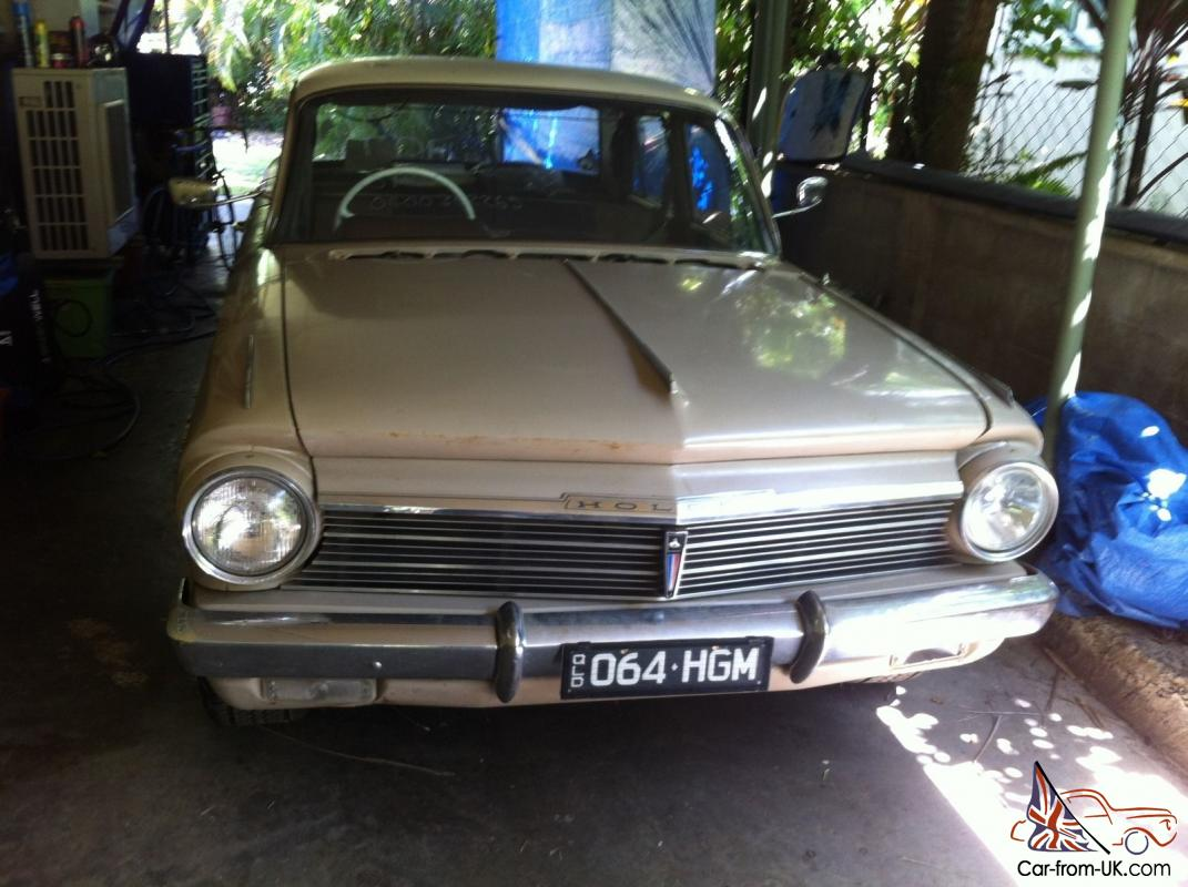 Holden Special 1963 4D Sedan 179HP Trimatic Unfinished Project in ...