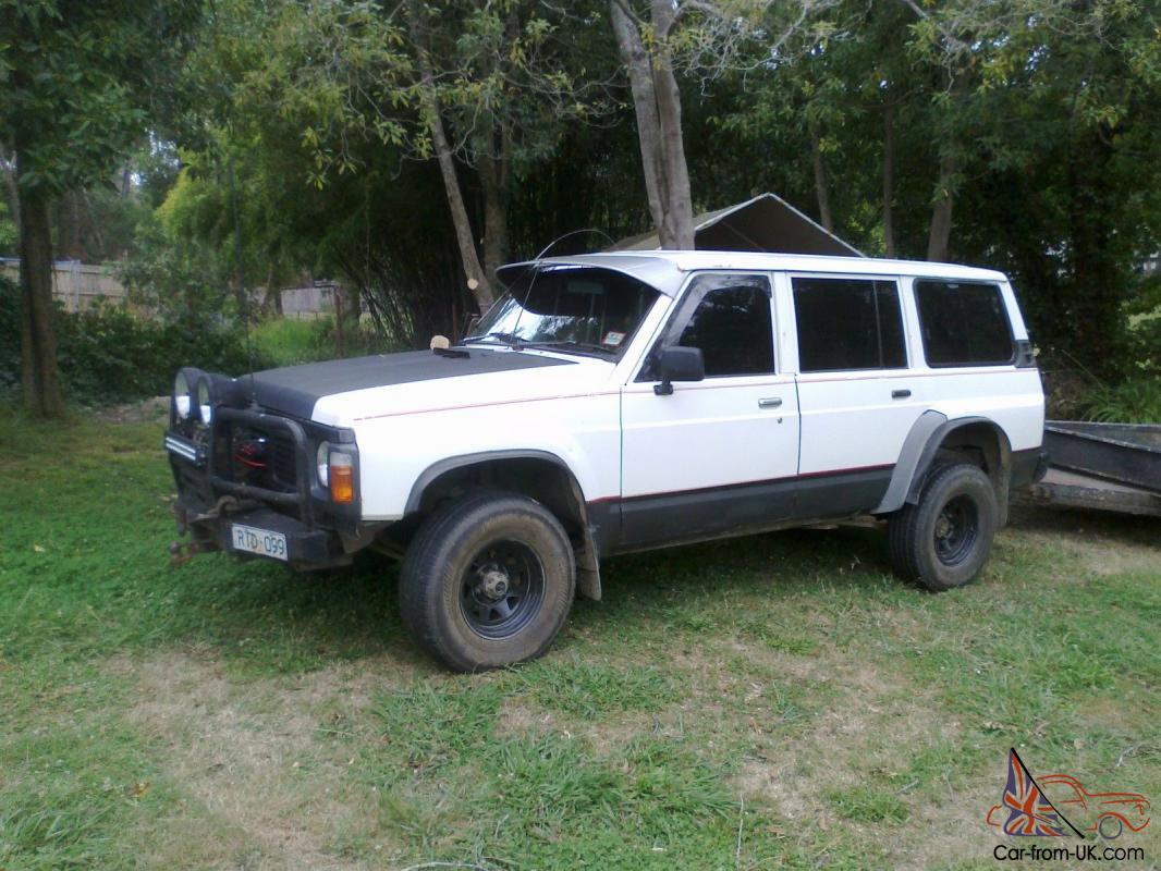 ford maverick 4x4 4d wagon 5 sp manual 4x4 4 2l diesel in lilydale vic. Black Bedroom Furniture Sets. Home Design Ideas
