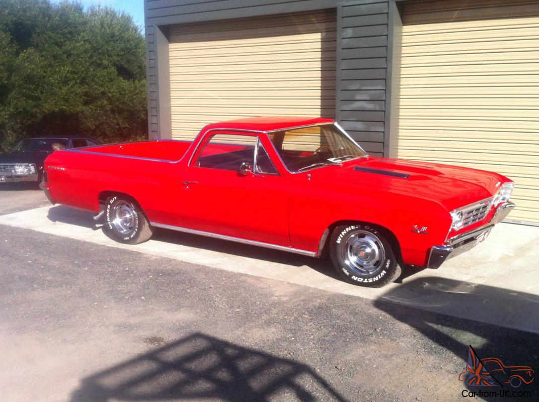 Chevrolet El Camino 1967 454 V8 Big Block 4 Speed Looks Sensational 1957