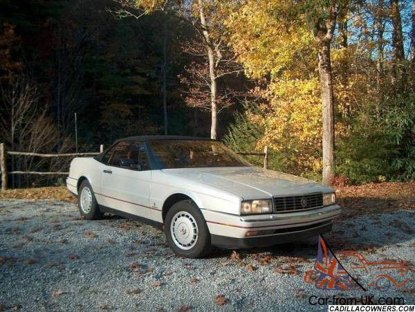 cadillac allante base convertible 2 door for sale. Cars Review. Best American Auto & Cars Review