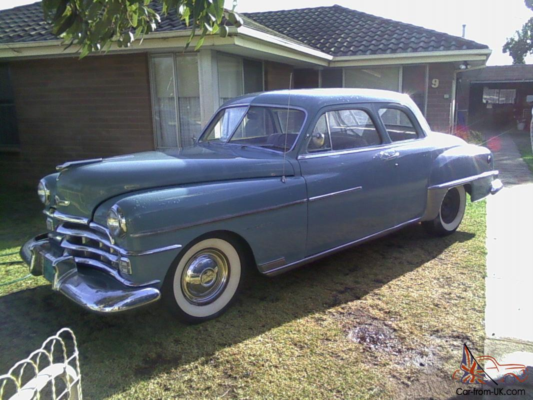 What Color To Paint Doors 1950 Chrysler Windsor Coupe