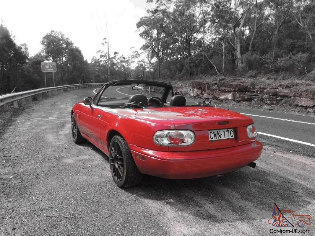 mazda mx5 convertible miata roadster new paint long rego in ryde nsw. Black Bedroom Furniture Sets. Home Design Ideas