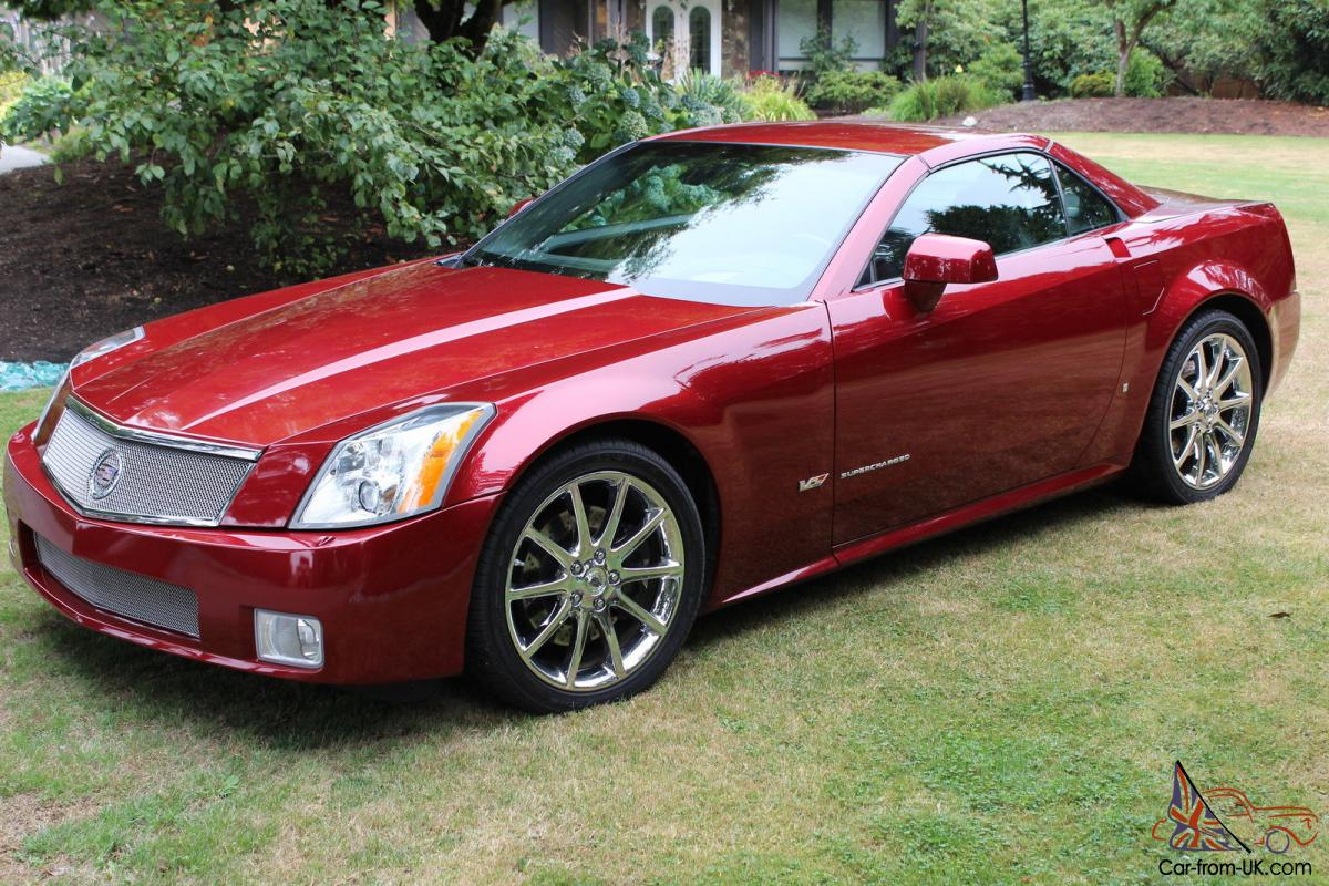 Cadillac : XLR V Convertible 2-Door