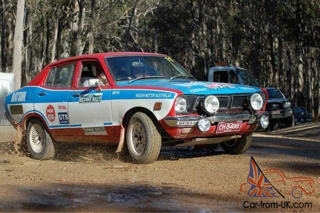 Rally Car Pb210 Factory Dealer Team Southern Cross Rally Entrant Works