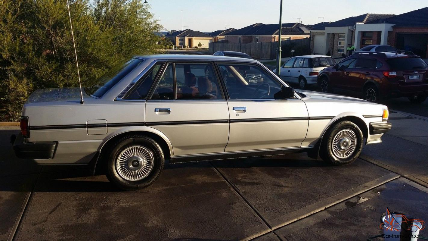1986 toyota cressida 1 owner twin ohc 2 8lt 6cyl auto with rego in melton vic. Black Bedroom Furniture Sets. Home Design Ideas