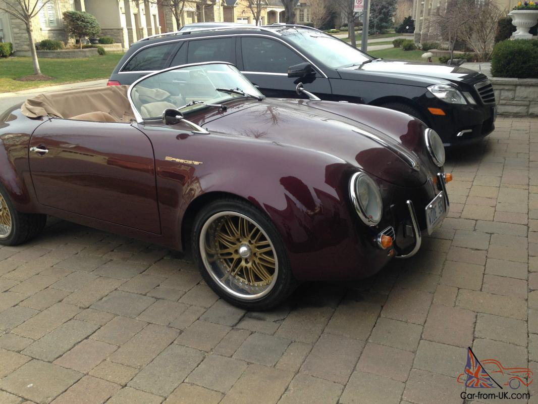 Porsche 356 Speedster Wide Body