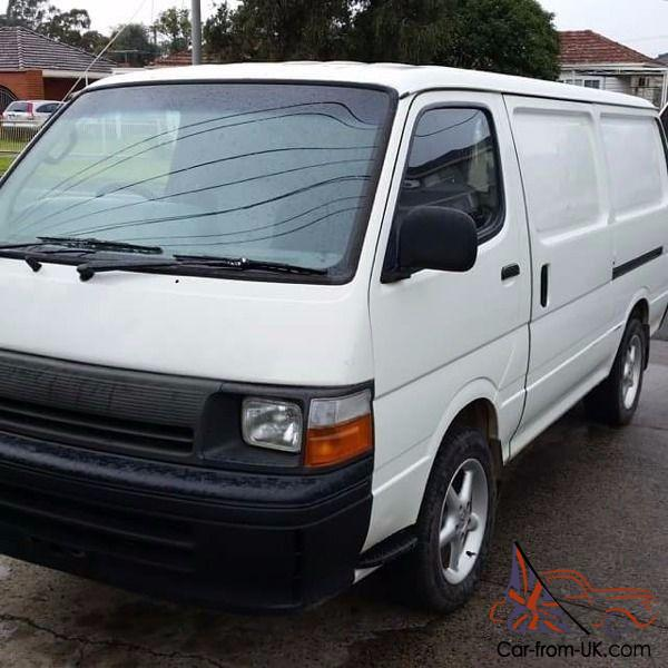 Original Used Toyota Hiace Buses For Sale In Uk