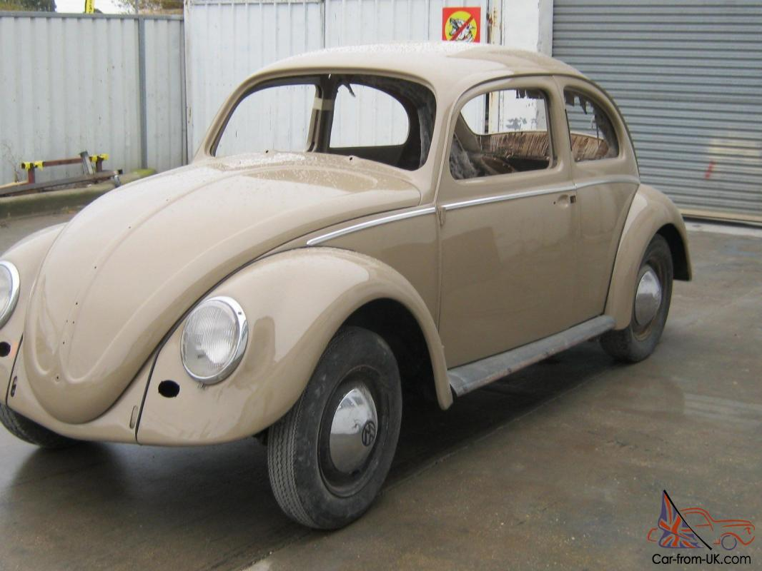 Beetle 59 Model NEW Paint Unfinished Project in Sebastopol, VIC