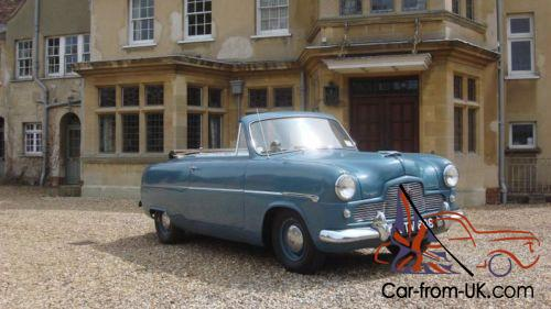 Ford Zephyr Convertible Mk1 Ford Consul Zodiac