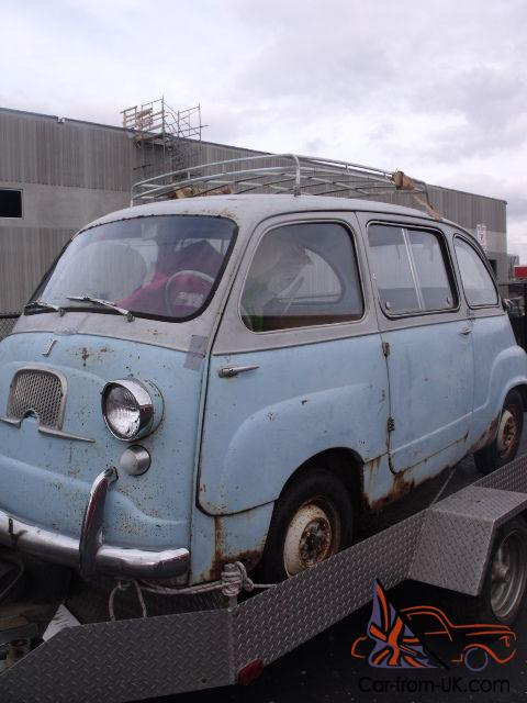 1958 fiat 600 multipla microcar price lowered to sell. Black Bedroom Furniture Sets. Home Design Ideas