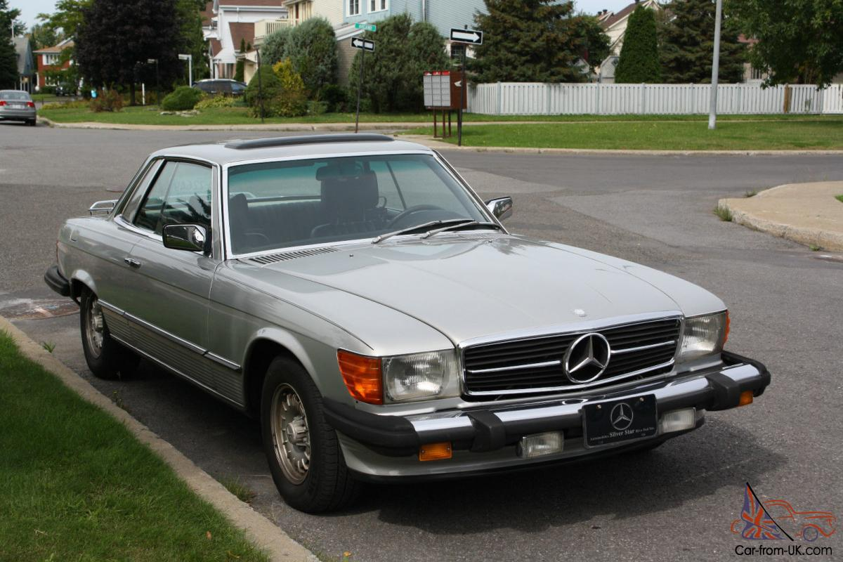 Mercedes benz 400 series 450 slc for Mercedes benz fixed price servicing costs