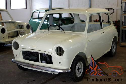 1968 Austin Morris Mini Mk1 Shell Restoration Project