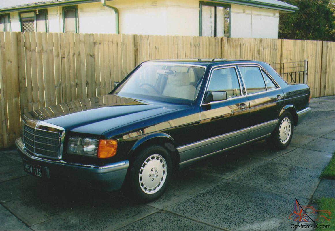 300se 1986 mercedes benz w126 in astounding original condition for Mercedes benz w126 for sale