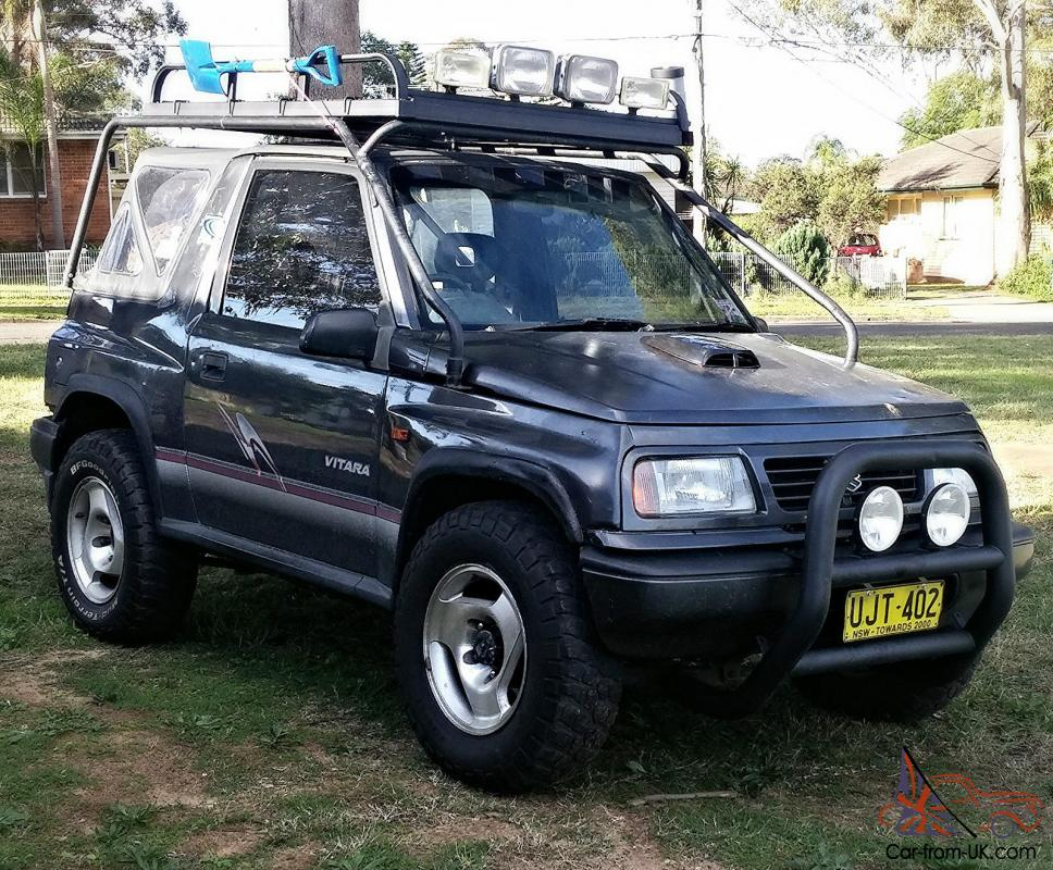 Tonka Tuff Vitara 4xr Rego And Heaps Of Extras In Green