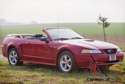 2000 ford mustang gt convertible. Black Bedroom Furniture Sets. Home Design Ideas