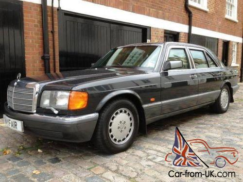 1991 mercedes benz 560 sel armoured for 1991 mercedes benz 560sel for sale