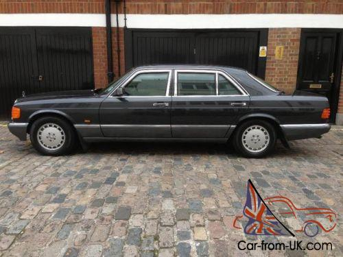 1991 mercedes benz 560 sel armoured for Mercedes benz armored