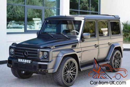 2001 mercedes benz g55 brabus for What country is mercedes benz from