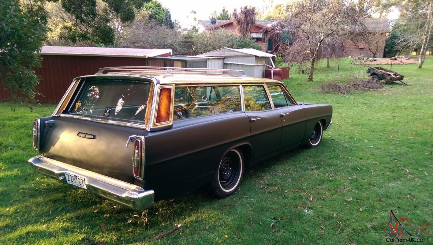 1967 ford galaxie wagon 390 big block in gladstone park vic. Black Bedroom Furniture Sets. Home Design Ideas
