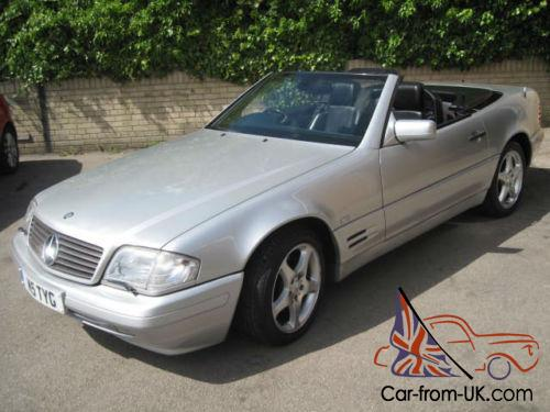 1997 r mercedes benz sl320 convertible automatic for Mercedes benz sl320 for sale