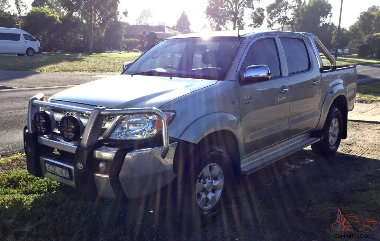 Toyota Hilux 2005 Sr5 Dual Cab 4x4 V6 Automatic Ggn25r In