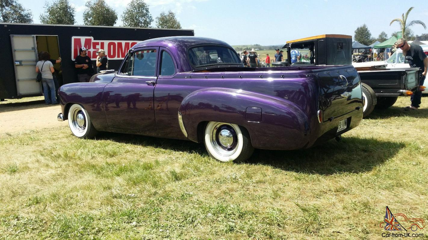 1951 Chevrolet Coupe Ute Chevy Hotrod Paint Colors