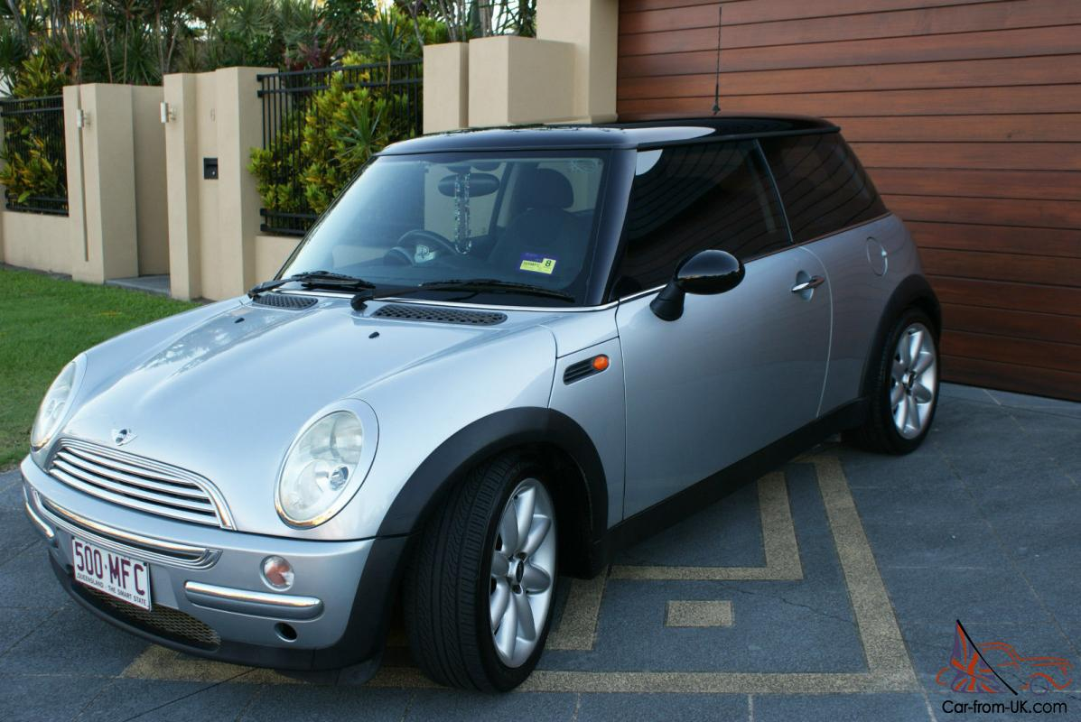 mini cooper 2003 2d hatchback manual 1 6l multi point f inj 4 seats in qld. Black Bedroom Furniture Sets. Home Design Ideas