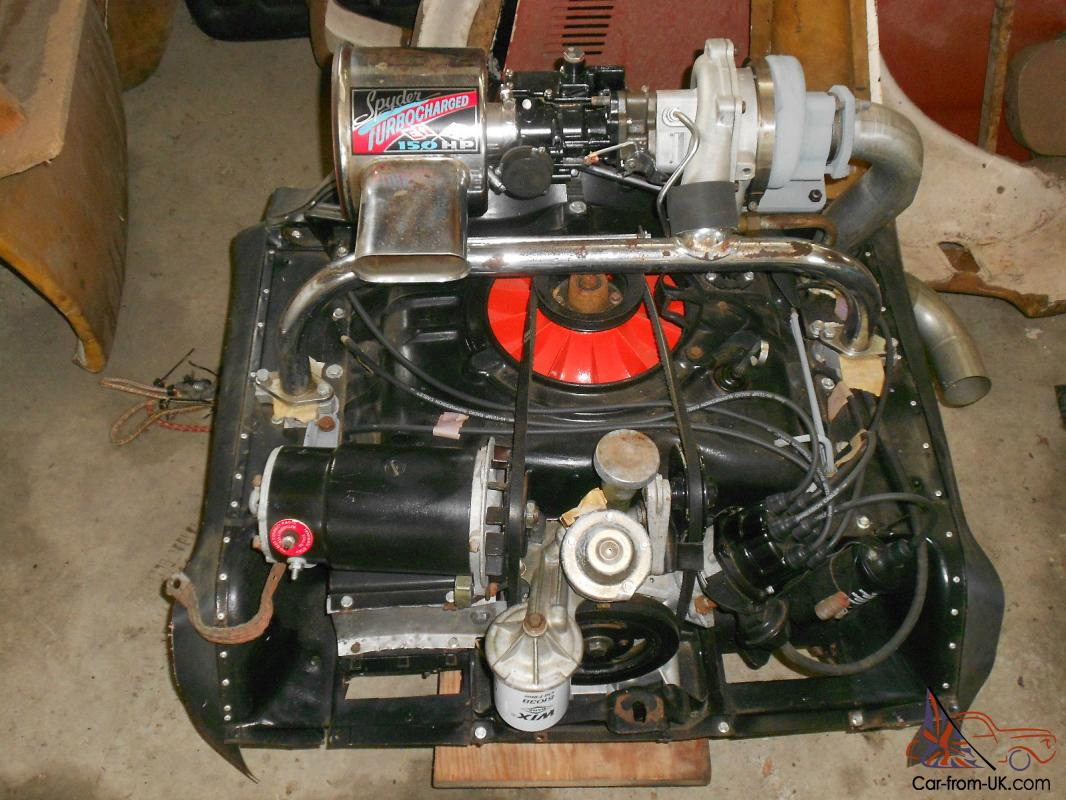 1962 Corvair 150 Hp Turbo Engine Completly Re Built Only Photo