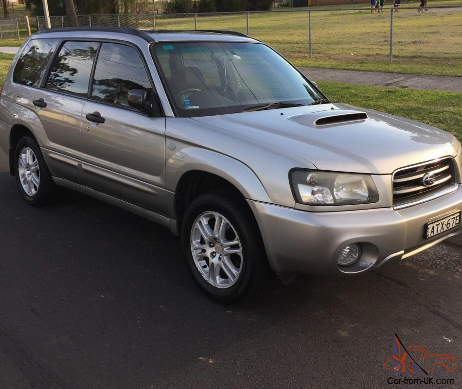 subaru forester xt 2004 4d wagon manual 2 5l turbo mpfi 5 seats. Black Bedroom Furniture Sets. Home Design Ideas