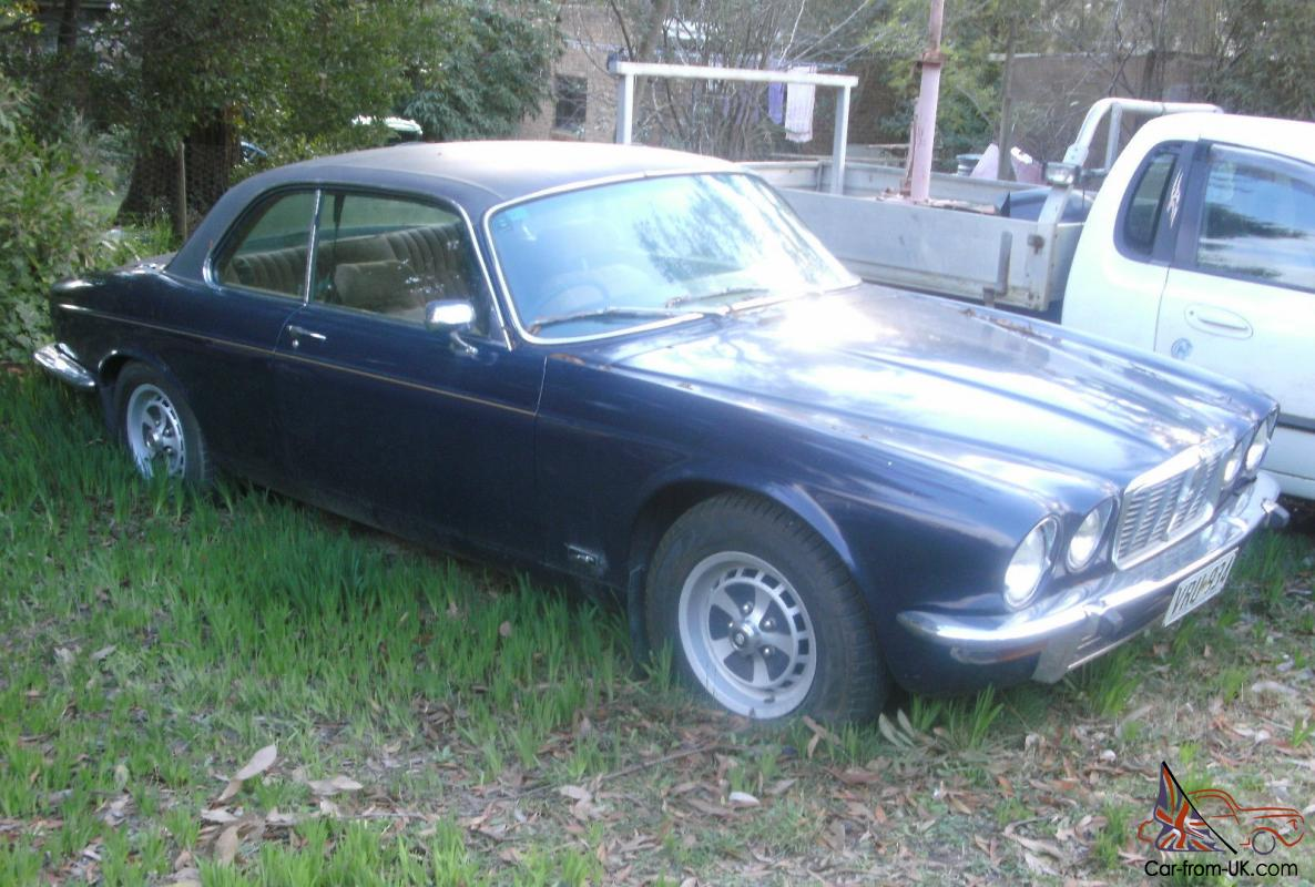 Jaguar xj 5 3c v12 pillarless coupe good project in vic for sale