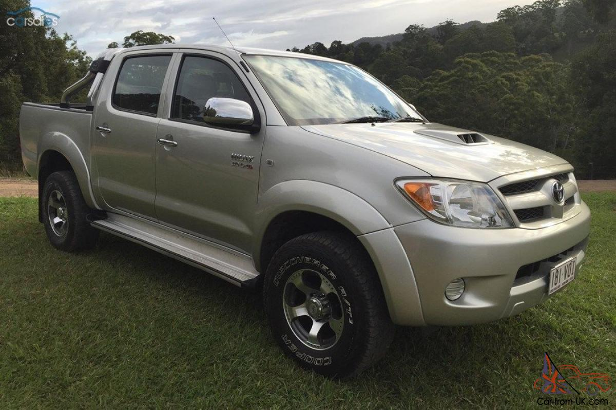 toyota hilux 2008 sr5 4x4 in qld. Black Bedroom Furniture Sets. Home Design Ideas