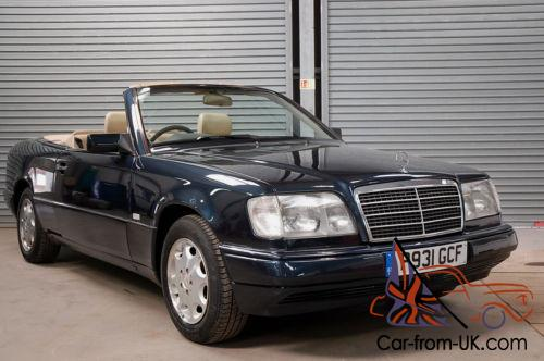 1996 p mercedes e220 auto w124 cabrio convertible rare. Black Bedroom Furniture Sets. Home Design Ideas