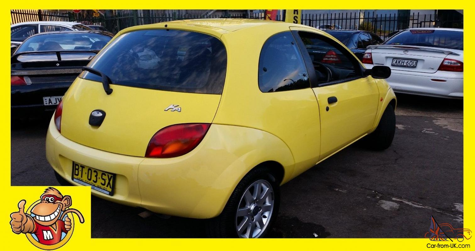 2001 ford ka manual feb 2016 rego cheap air steer easy to park in nsw. Black Bedroom Furniture Sets. Home Design Ideas