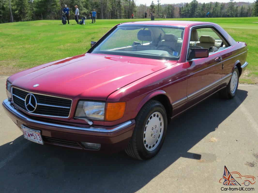 Mercedes benz 500 series 500 sec for 500 mercedes benz for sale