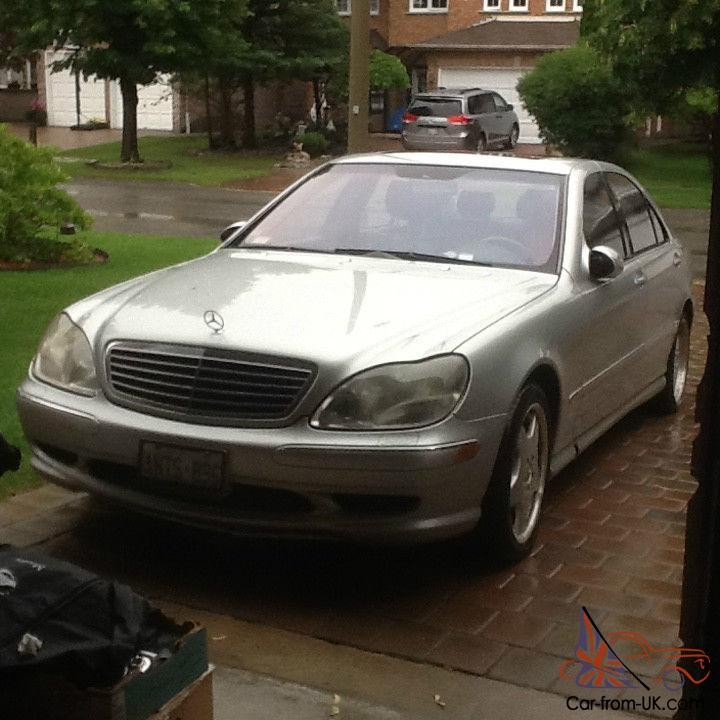 Mercedes benz s class guard sedan 4 door for Mercedes benz guard for sale