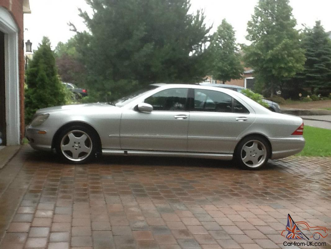 Mercedes benz s class guard sedan 4 door for Mercedes benz 4 door