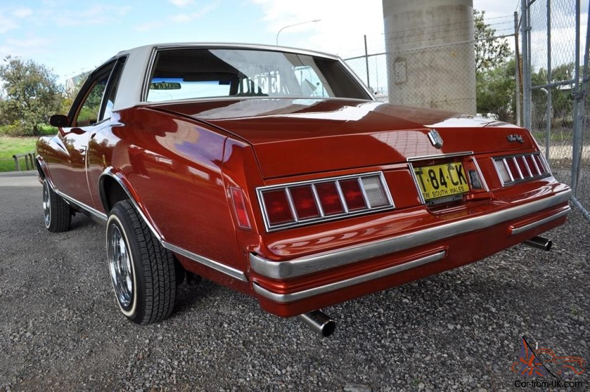 1979 Chevrolet Monte Carlo Coupe Lowrider Wire Wheels Chev In Nsw