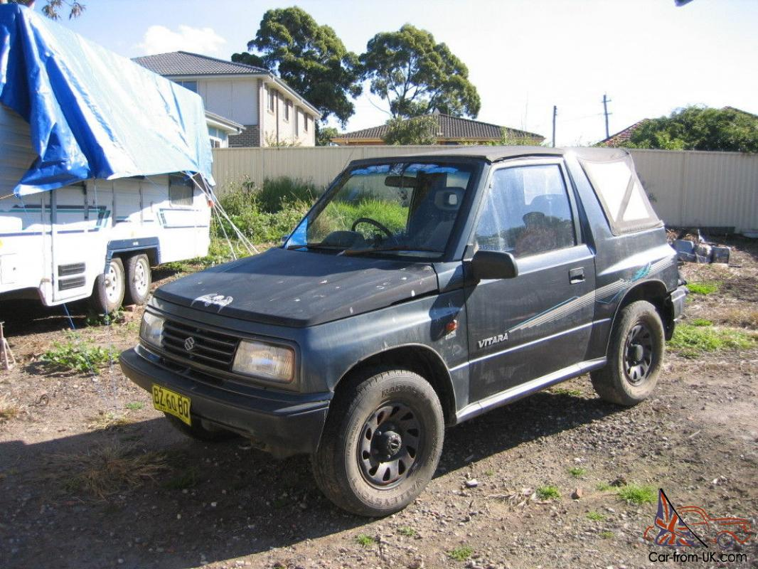 suzuki vitara 4x4 1994 jx in nsw. Black Bedroom Furniture Sets. Home Design Ideas