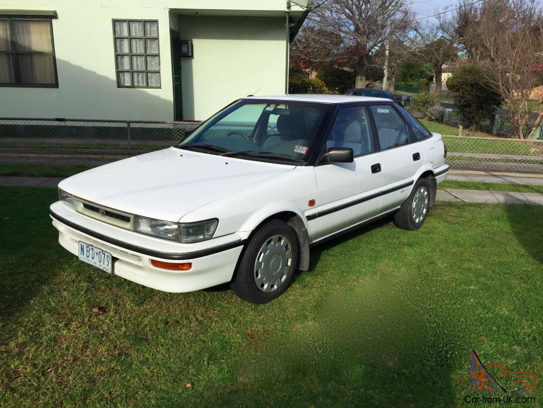 Toyota Corolla Seca Csi Hatch 1994 In Vic
