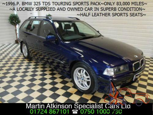 P BMW 325 25 tds Touring TURBO DIESELONLY 83000 MILESLOCAL CAR