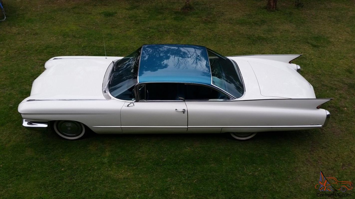1960 Cadillac Coupe Deville A C Power Everything Drives Perfect