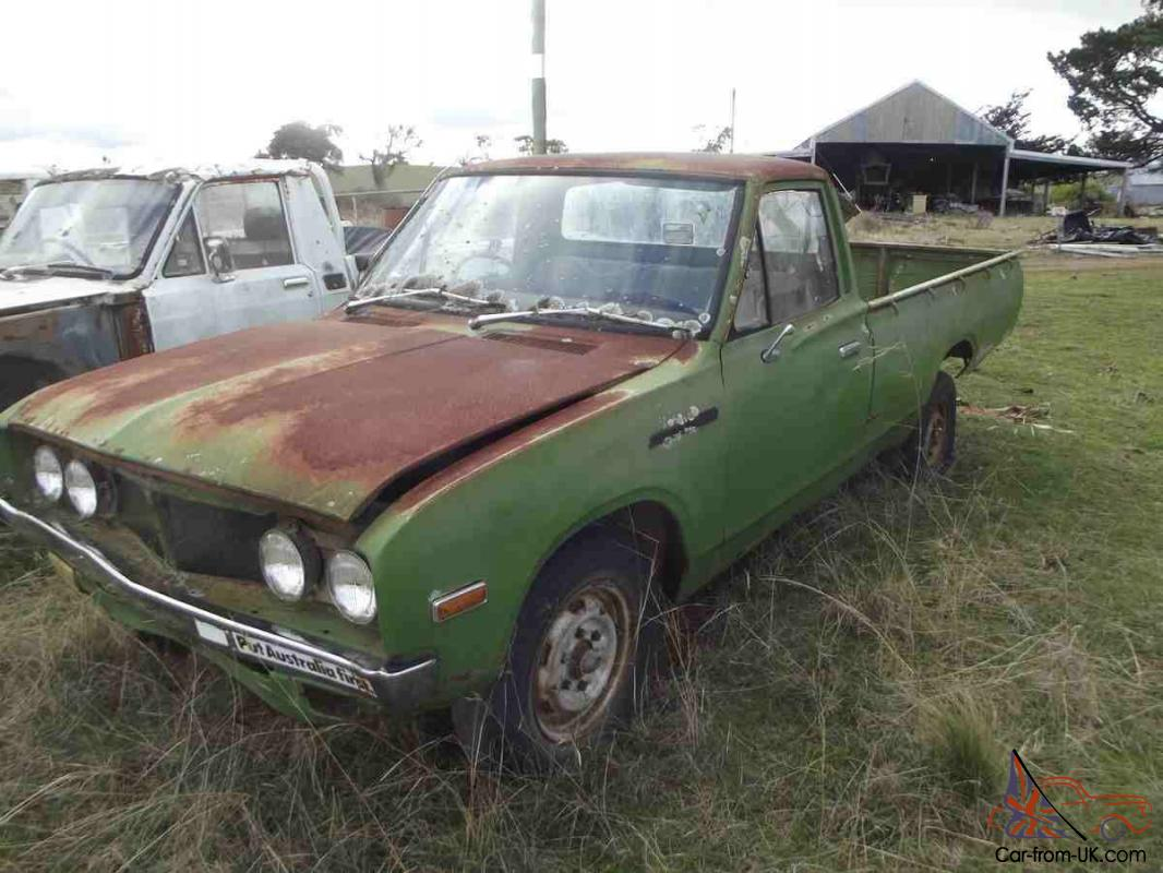 OLD 1970s Datsun UTE Restore Farm Clearance Rare Appears Complete TO GO