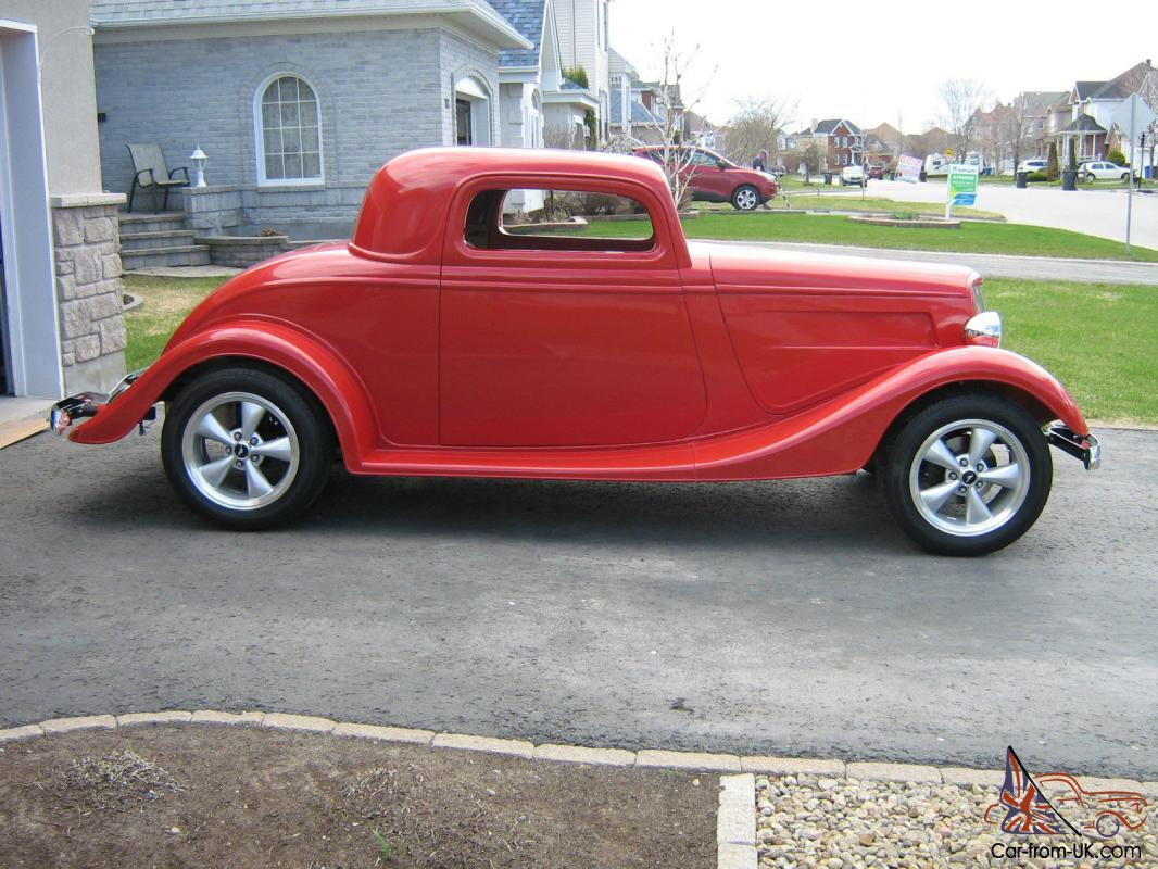 1934 Ford 5 Window Coupe Street Rod Kit American Dream