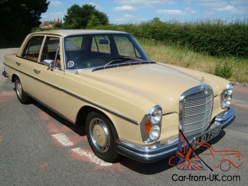 Mercedes benz w108 280 se 1972 others for Mercedes benz w108 for sale