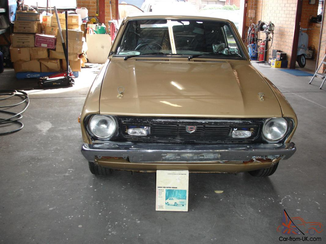Datsun 120Y 1976 2D Coupe Manual Z18 Turbo Engine Project ...