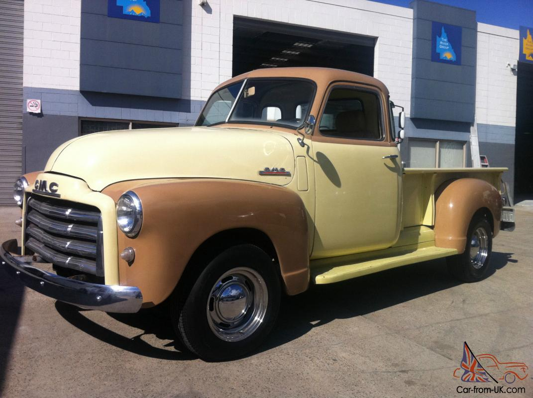 chevrolet gmc pickup 1951 5 window cab